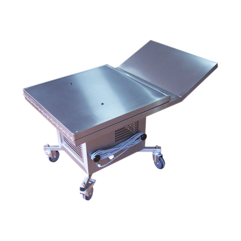 refrigerated funeral table