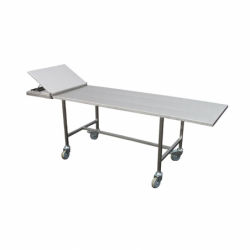 funeral presentation table with fixed legs