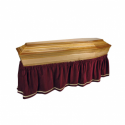 velvet coffin skirt