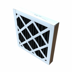 carbon filter for filtration cell