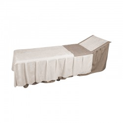 Cancun funeral table set