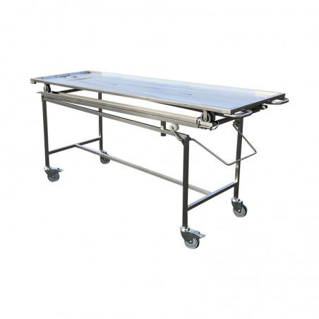 STRETCHER WITH INTERMEDIATE POSITION