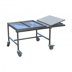 cold-free display cart