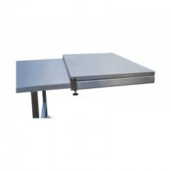 table funéraire de présentation pieds fixes