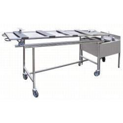 tilting presentation and transport cart