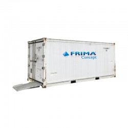 refrigerated mortuary containers