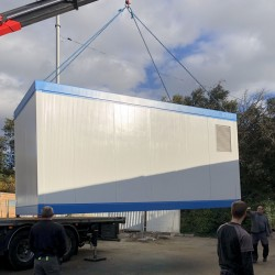 mobile mortuary for works