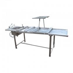 TABLE D'AUTOPSIE AVEC BAC...