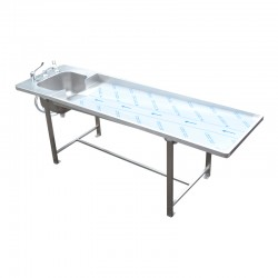 TABLE D'AUTOPSIE AVEC BAC