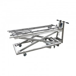 trolley with electric jacks