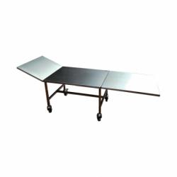 table funéraire de présentation standard