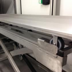 electric morgue cart